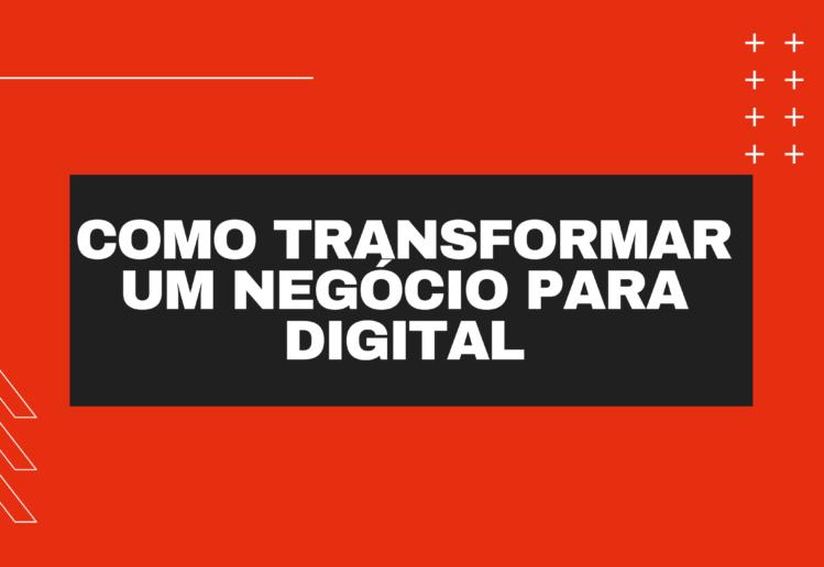 transformar uma profissão em um negócio digital